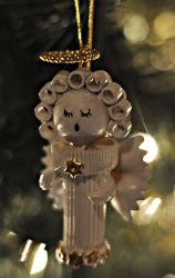 Pasta Angel Ornaments