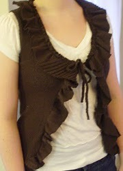 Easy Ruffled Vest