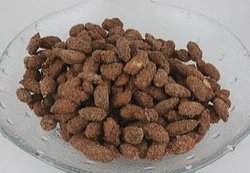 Sugared Cinnamon Almonds Slow Cooker Recipe