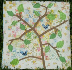 In the Leafy Treetops Quilt