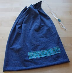 Drawstring T-Shirt Bag