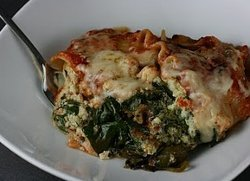Slow Cooker Pesto Spinach Lasagna Recipe