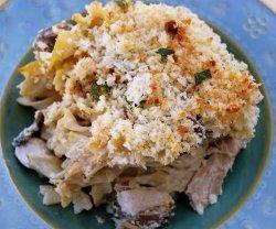 Rotisserie Chicken Noodle Casserole