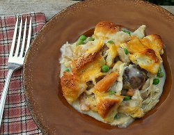 Biscuit-Topped Chicken Stew