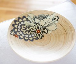 Decoupage Wood Bowl