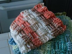 Basketweave Dishcloth
