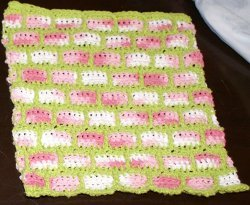 Brick Wall Dishcloth