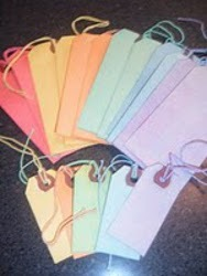 Tie Dye Gift Tags