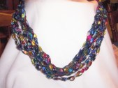 Necklace from Trellis Ribbon