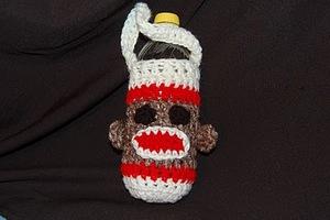 Sock Monkey Water Bottle