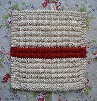 Waffle Knit Dish Cloth Pattern