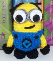 Minion from Despicable Me Amigurumi