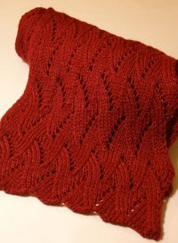 Winter Flame Scarf