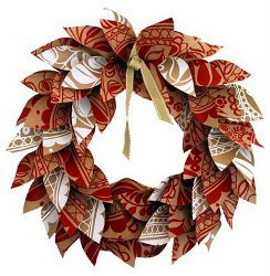 Paper Christmas Wreath