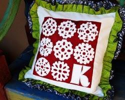 Custom Snopwflake Cushions