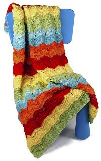 Rainbow Lace Afghan