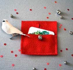 Jingle Bell Gift Card Holder