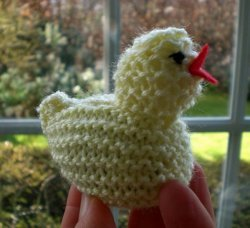 Knitted Easter Chick
