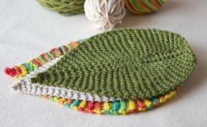 Leafy Washcloth