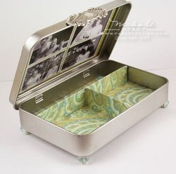 Tin Jewelry Box