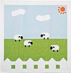 Green Pastures Baby Quilt