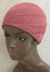 Spiral Knit Cap