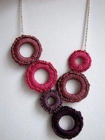 Crochet Delight Necklace