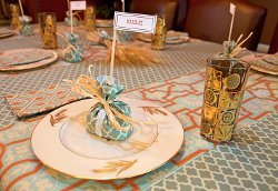 Thanksgiving Place Card and Favor Bags