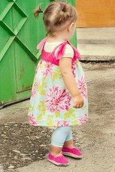 Strawberry Fields Little Girls Dress