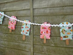 Popsicle Bunting