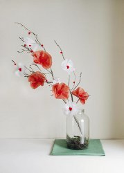 Flower Branch Centerpiece