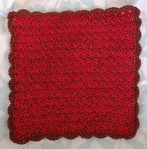 Washcloth or Dishcloth Free Crochet Pattern