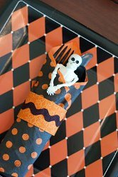 Simple DIY Halloween Napkin Rings