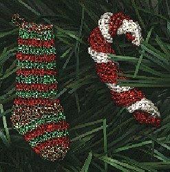 Mini Crochet Christmas Ornaments