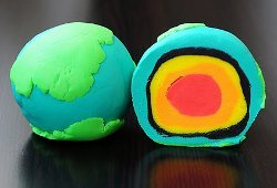 Play Doh Planet Earth