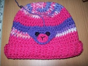 Crochet Hat Applique