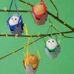Hanging Birdie Eggs