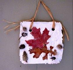 Autumn Nature Plaques