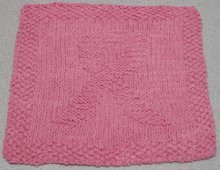 Breast Cancer Awareness Washcloth