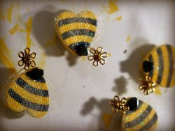 Adorable Bee Mine Magnets