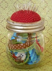 Pincushion Jar Tutorial
