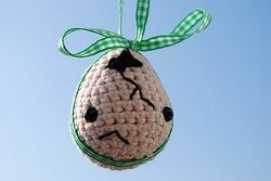 Mr. Broken Egg Crochet Pattern