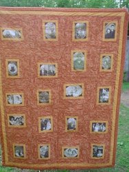 How to Make a Photo Block Quilt
