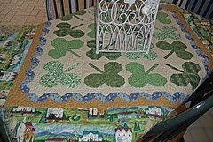 St. Patrick's Day Shamrock Quilt