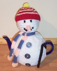 Frosty the Snowman Tea Cozy