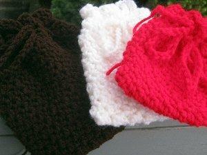Small Crocheted Gift Bag