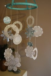 Gorgeous Snowflake Chandelier