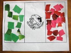 Mexican Flag Mosaics
