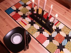 Jingle Jolly Quilted Table Runner