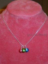 Glittery Ornament Necklace